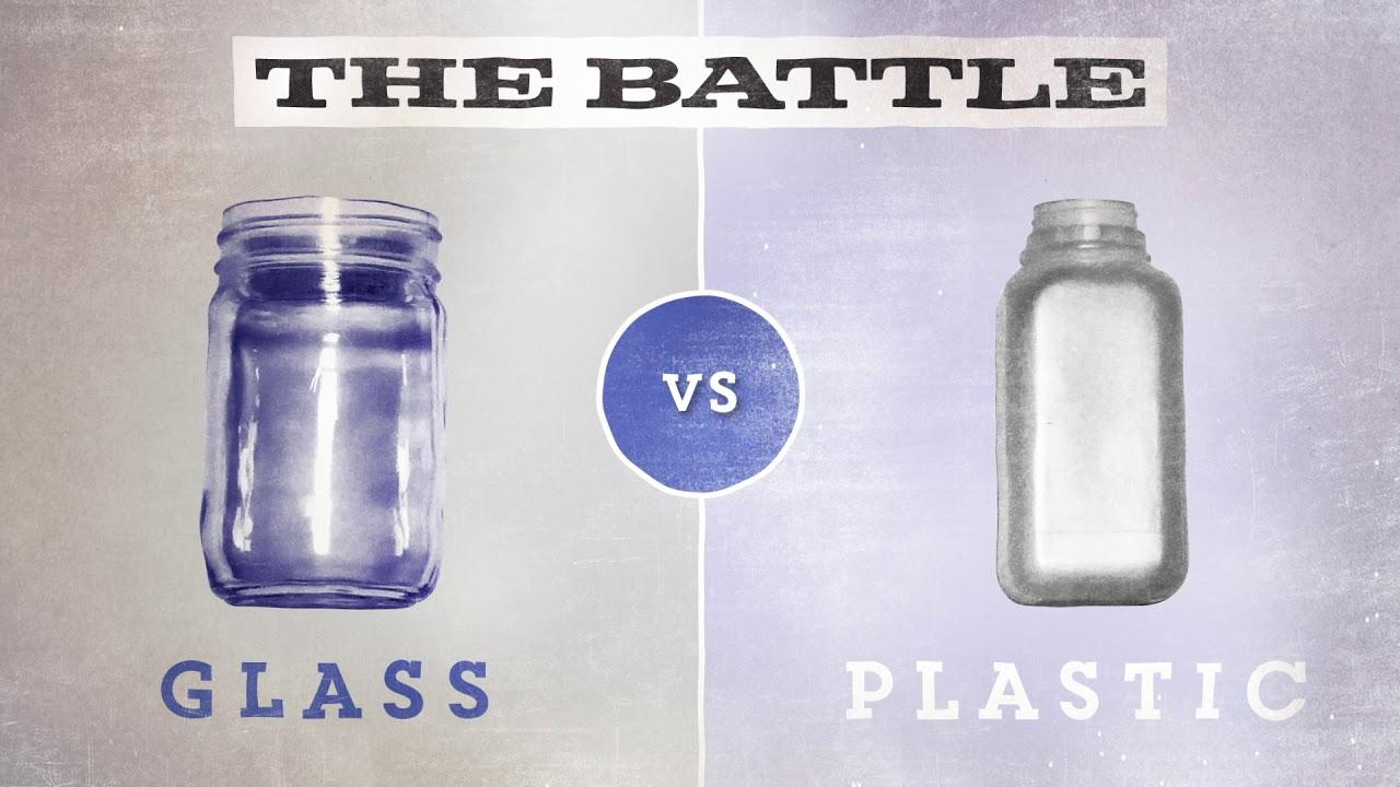 Glass vs Plastics